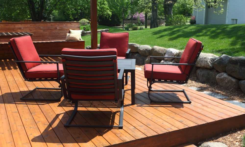 How to Secure Patio Furniture From Theft Six Top Tips to Deter Thieves
