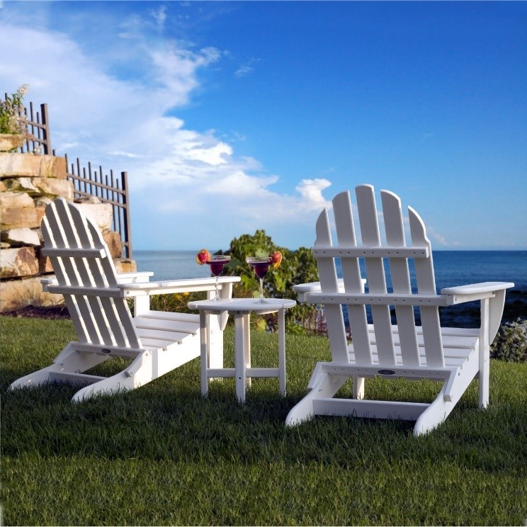 adirondack chair curved vs straight