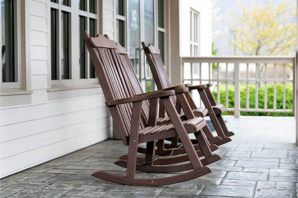 Shine Company Inc. 4332OA Vermont Porch Rocker