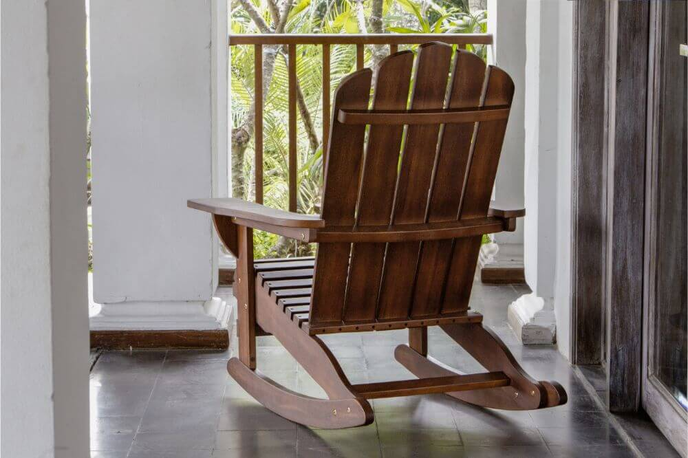 How to Clean an Old Wood Rocking Chair