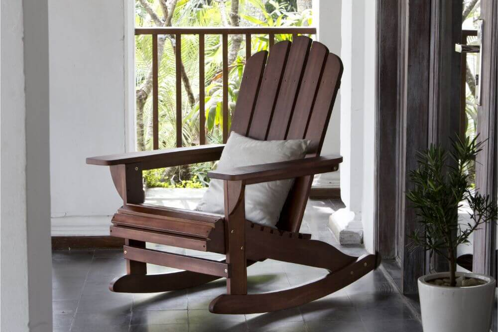 How To Clean An Old Wood Rocking Chair The Patio Chair