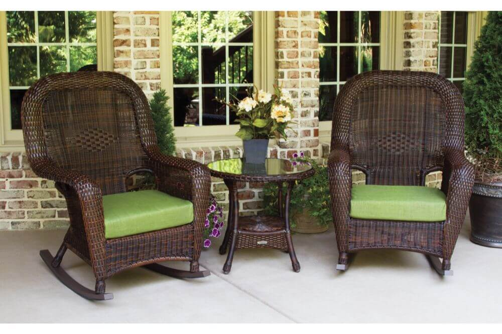 Sea Pines 3 piece Rocking Chair Set