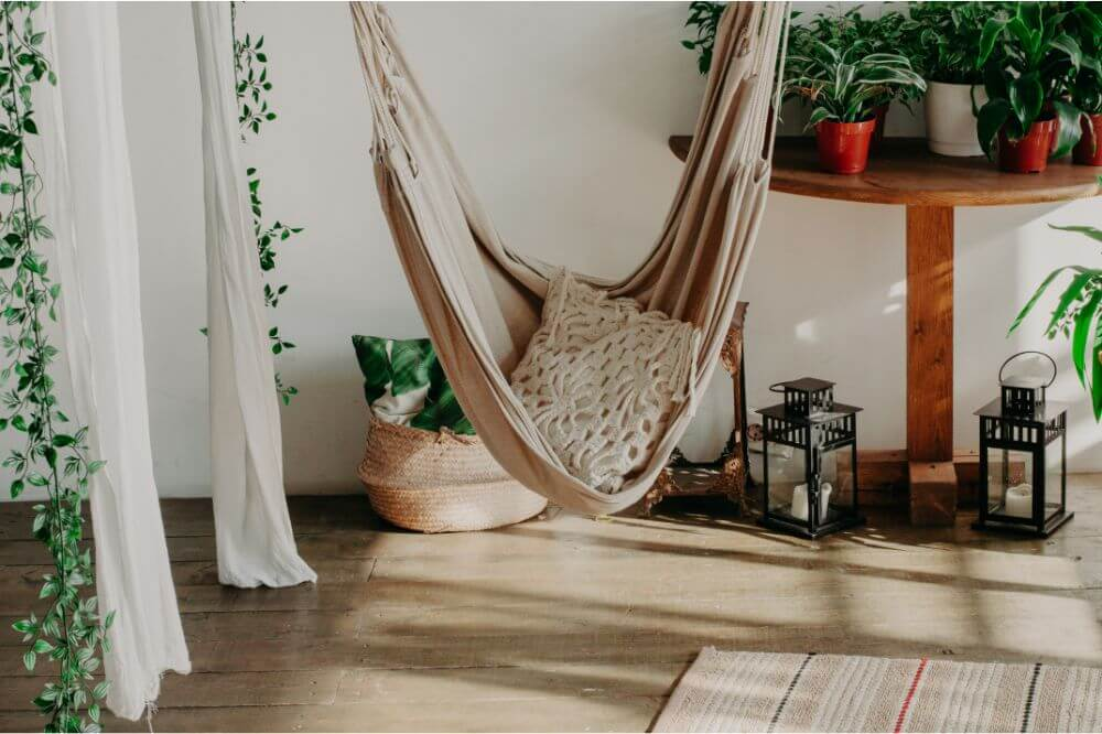 How to Hang a Hammock Chair Indoors