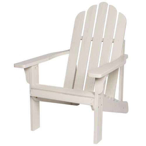 Wivenhoe Solid Wood Adirondack Chair